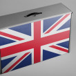 Stock Photo: British flag