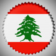 Lebanese flag — Stock Photo #23452524