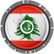 Lebanese flag — Stock Photo #23453204