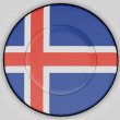 Icelandic flag — Stock Photo #23454544