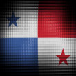 The Panama flag - Stock Photo