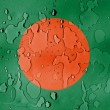 Stock Photo: Bangladesh flag