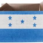 The Honduran flag — Stock Photo