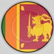 Sri Lankflag — Stock Photo #23458102
