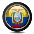 Ecuador flag — Stock Photo #23459760