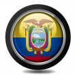 Ecuador flag - Stock Photo