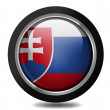 The Slovakia flag - Stock Photo