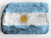 The Argentine flag — Stock Photo