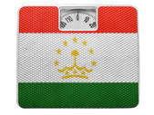 The Tajik flag — Stock fotografie
