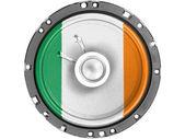 The irish flag — Foto de Stock
