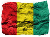 The Guinean flag — Stock Photo