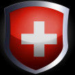 Swiss flag — Stock Photo #23460730