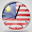 The Malaysia flag -  
