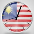 The Malaysia flag - Foto Stock