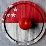 The Singapore flag — Stock Photo #23462130