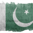 Pakistani flag — Stockfoto #23462588