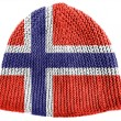 The Norwegian flag - Stockfoto