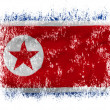 Foto Stock: North Koreflag