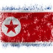 North Koreflag — 图库照片 #23465800