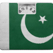 Pakistani flag — Stock Photo #23465900