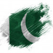 Pakistani flag — Stock Photo #23468680