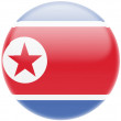 North Koreflag — Stockfoto #23469796