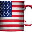 The USA flag - Stock Photo