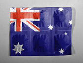 The Australian flag — Stock fotografie