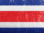 La bandera de costa rica — Foto de Stock