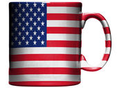 The USA flag — Stock Photo