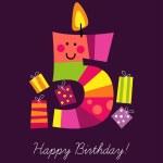 Fifth birthday — Stock Vector #41948451