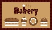 Bakery — Stock Vector