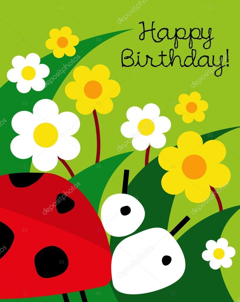 Божьи открытки с днем рождения