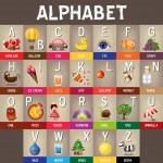 Alphabet A to Z — Stock Vector