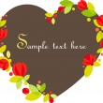 Floral frame — Stock Vector #42395545