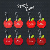 Price tags — Vector de stock