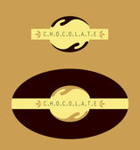 Chocolate sign — Stockvektor