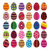 Easter egg collection — 图库矢量图片