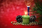 Decoração de Natal em abstrato — Fotografia Stock