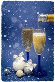 Decoração de natal em abstrato — Foto Stock