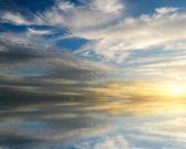 Sky background. Element of design. — Stock Photo
