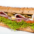 Stock Photo: Sandwich isolated on white background