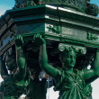 Wallace fountain detail, Paris - Stock Photo