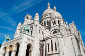 Sacred Heart Basilica (Sacré-Coeur), Montmartre, Paris — Stockfoto