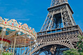 Eiffel Tower (Tour Eiffel), Paris — Stock Photo