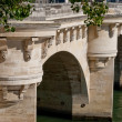 Paris, Pont Neuf detail — Stock Photo