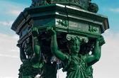 Wallace fountain detail, Paris — Stock Photo