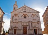 Pienza Cathedral, Tuscany, Italy — Stock Photo