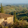Panorama from San Gimignano, Tuscany - Photo