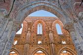 Abbey of San Galgano, Tuscany, Italy — Stock Photo